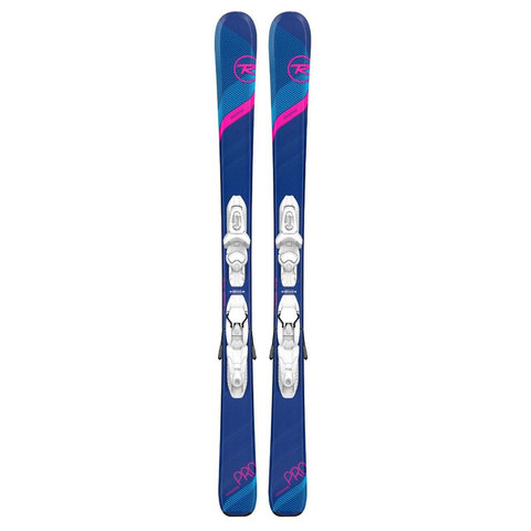 Rossignol Experience Pro Skis With Kid - X 4 Bindings - Girl's N/a 116