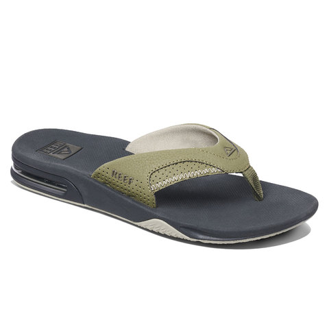 Reef Fanning Sandals Deep Olive 12.0