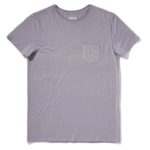 Banks Journal Primary Core Tee Shirt Old Mauve Xl