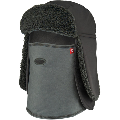 USOutDoor.com - Airhole Trapper Tech Hat Charcoal S/m 44.95 USD