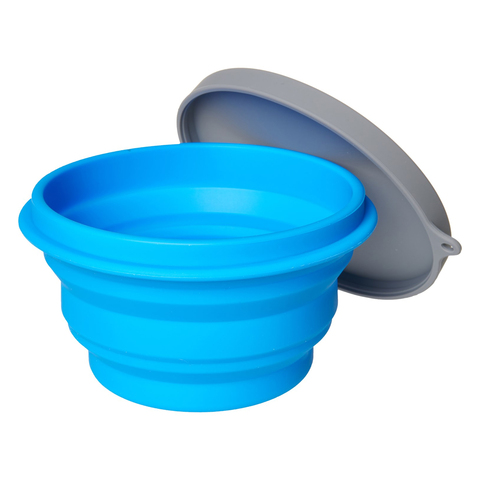 Alpine Mountain Gear Collapsible Silicone Bowl with Lid