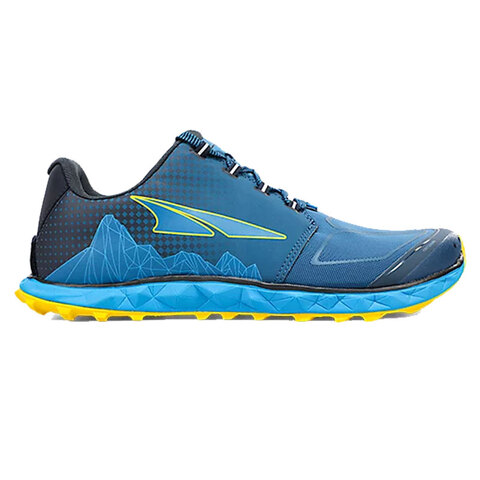 https://www.usoutdoor.com - Altra Superior 4.5 Trail Shoes Blue/yellow 12.5