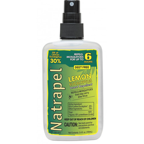 Adventure Medical Kits Natrapel Lemon Eucalyptus 3.4 oz Insect Repellent