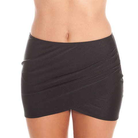 Image of Amuse Society Everyday Solid Skirt - Women Black Sands Lg