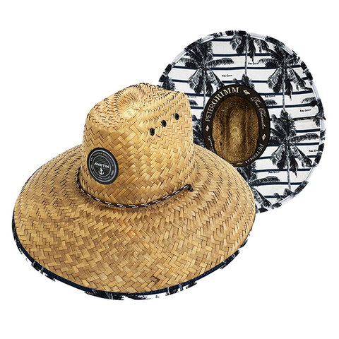 Anetik Dockside Straw Hat Palm Trees O/s