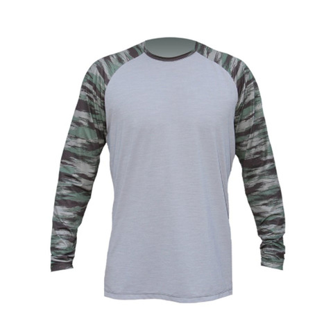 Anetik Remix Tech L/S Shirt Alloy/camo Xl
