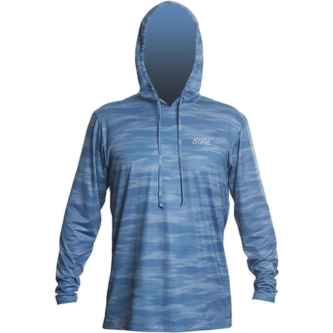Anetik Remix Tech Hoody - Men's Azul Camo Md