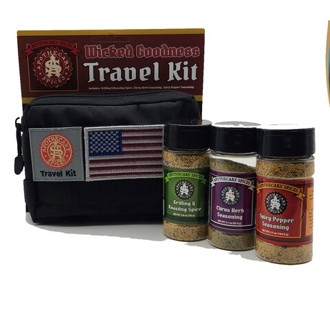 Apothecary Spices Wicked Travel Kit