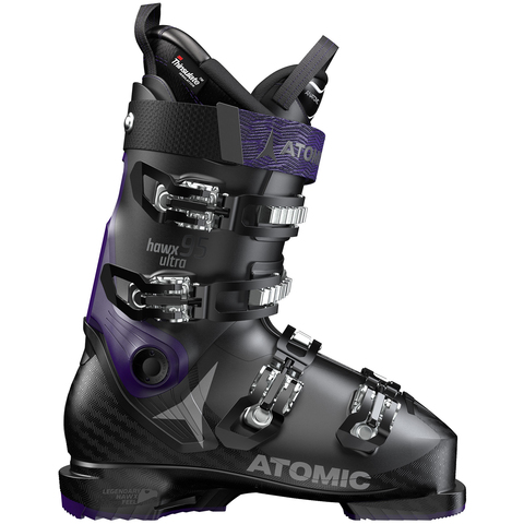 Atomic Hawx Ultra 95 Ski Boot- Womens Black/purple 26.0/26.5