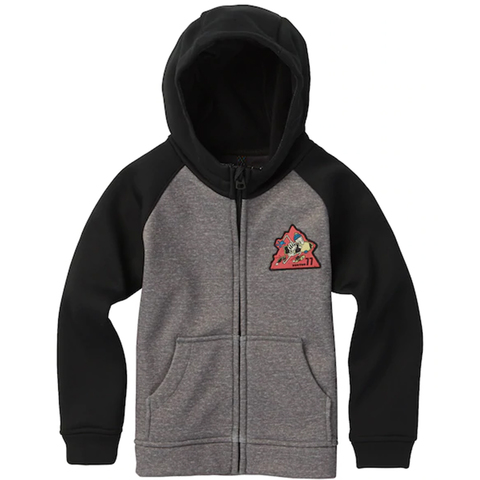 Burton Boy's Crown Bonded Full Zip Hoodie - Kid's