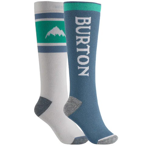 Burton Weekend Midweight Snowboard Sock Two Pack - Women's