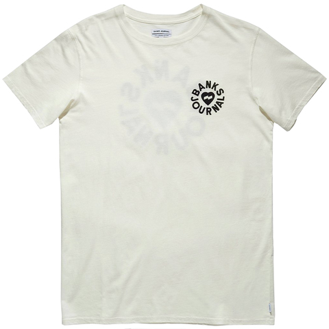 Banks Journal Heart Rings Tee Shirt - Men's