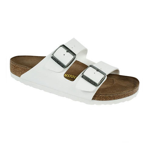 Birkenstock Arizona Sandals White Birko Flor 36r