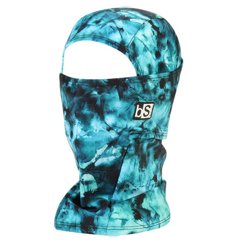 USOutDoor.com - BlackStrap Industries The Hood Balaclava  Tie Dye Teal One Size 31.95 USD