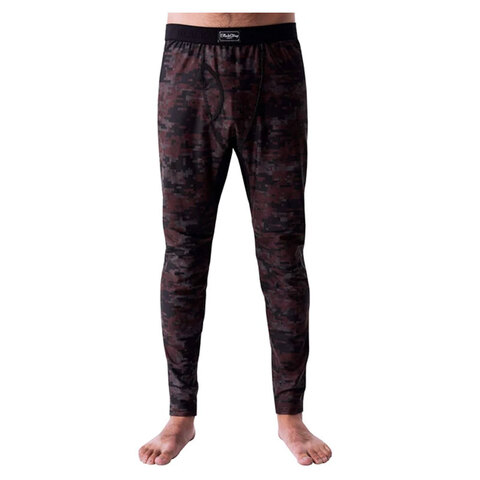 USOutDoor.com - Blackstrap Industries Outback Baselayer Pant Digital Maroon Lg 59.99 USD