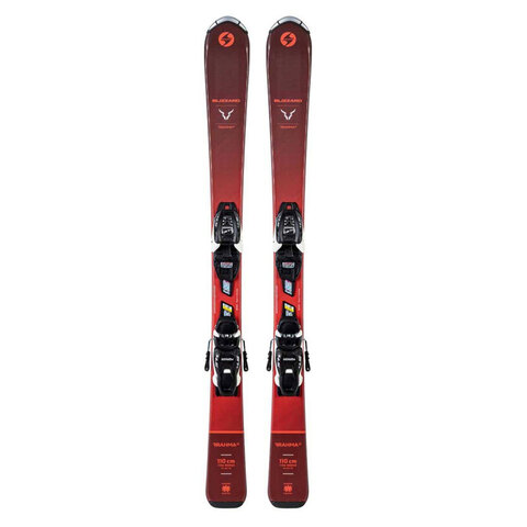Blizzard Brahma Jr. Skis with FDT 4.5 Bindings - Kid's