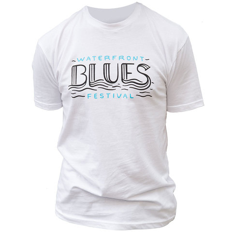 Waterfront Blues Festival Tee Shirt