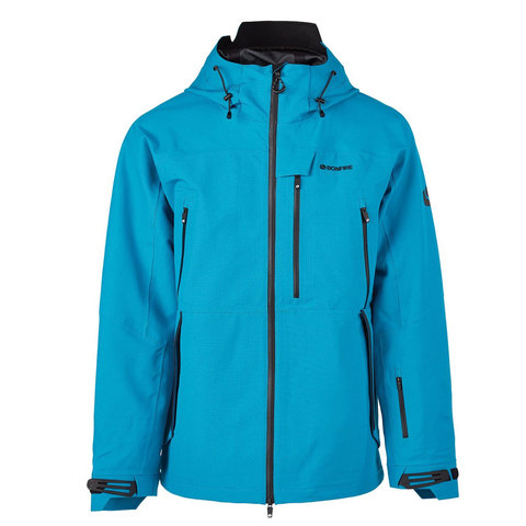 Bonfire Aspect 3L Stretch Jacket Cyan Lg