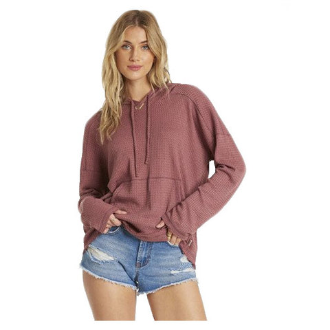 Billabong Days Like This Top Washed Plum Md