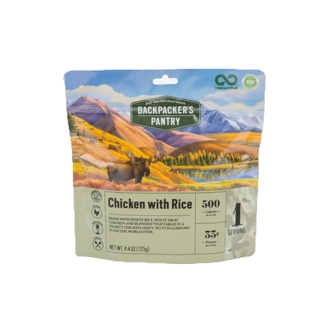 Backpacker's Pantry Chicken with Rice
