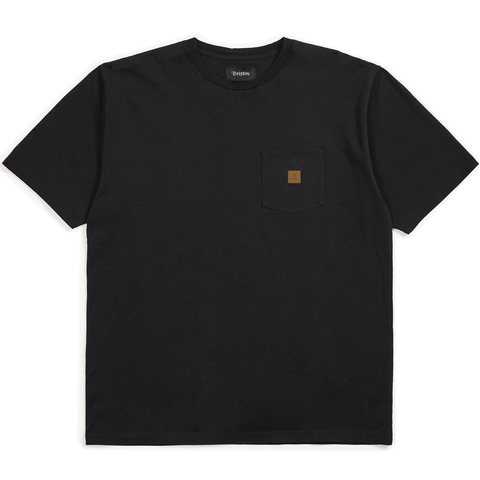 Brixton Main Label S/S Pocket Knit Tee Shirt - Men's