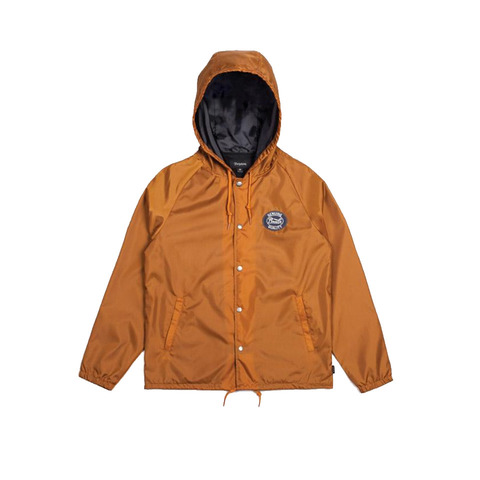 Brixton Merced Hooded Windbreaker Jacket