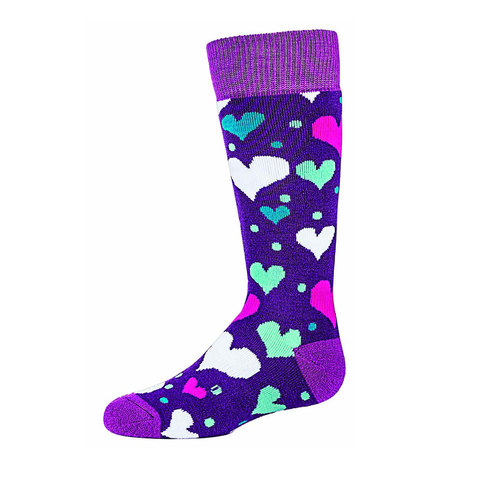 Bula Hearts Socks - Kids'