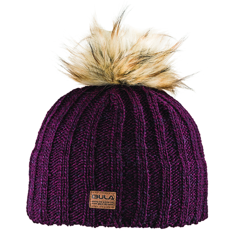 Bula Sam Beanie - Women's Burgundy One Size