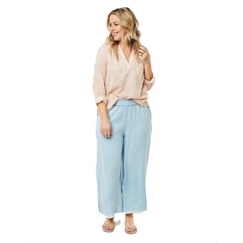 Carve Designs Riley Pant - Women's Light Chambray Md