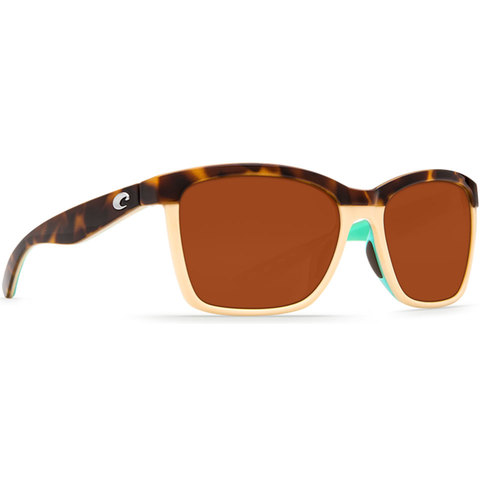 COSTA Anaa Sunglasses Shiny Retro Tort/copper 580