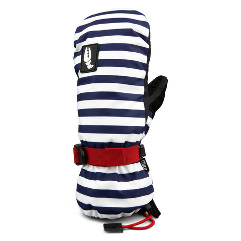 Crab Grab Cinch Mitt - Women's Navy Stripe L