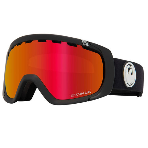 Dragon Rogue Goggles Black/red W/rose