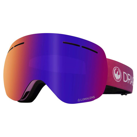 Dragon X1S Goggles Candy/purple W/amber