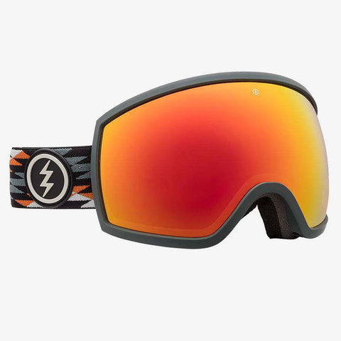 Electric EGG Goggles Nuevo Rust/red W/freedom of Choice