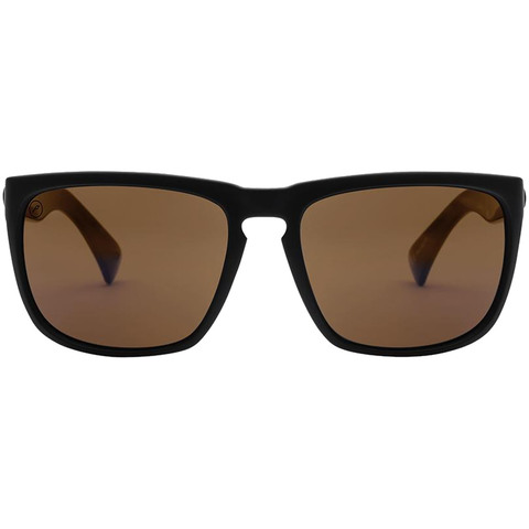 Electric Knoxville XL Sunglasses Matte Black/brz Polar