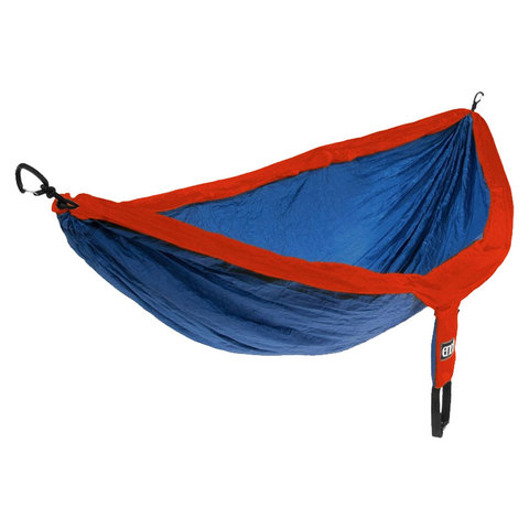 USOutDoor.com - Eno Doublenest Hammock Sapphire/orange One Size 69.95 USD