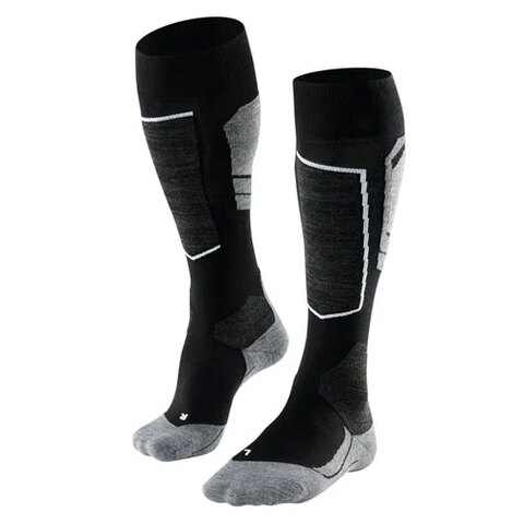 USOutDoor.com - Falke SK4 Skiing Socks Black Mix 44-45 44.95 USD