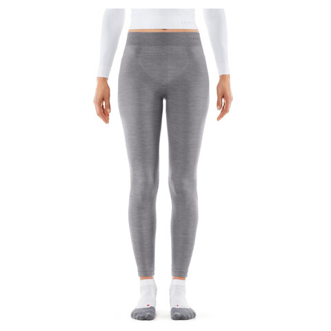 USOutDoor.com - Falke Wool-Tech Long Tights – Women's Grey Heather Lg 119.95 USD