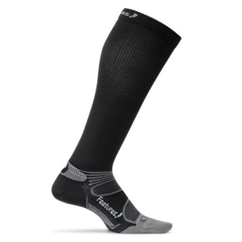 USOutDoor.com - Feetures Elite Compression Knee High Socks Black/silver Md 49.95 USD