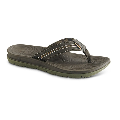 Freewaters Tall Boy Sandals Brown/olive
