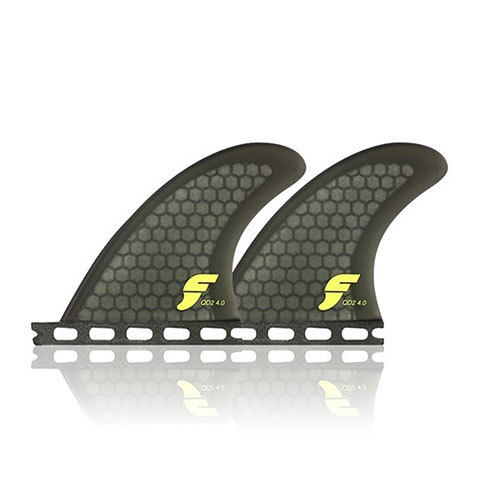 Futures Fins QD2 4.0 Quad Rear