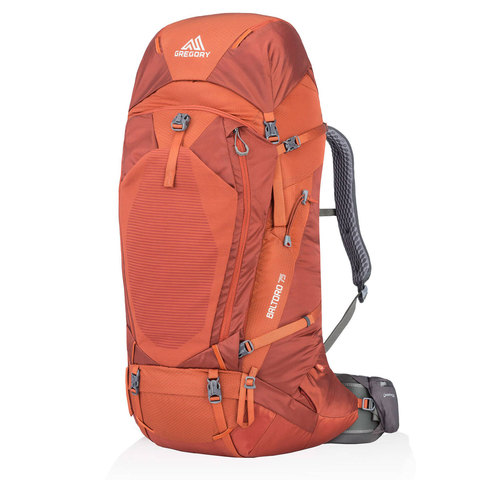 Gregory Baltoro 75 Backpack Ferrous Orange Md