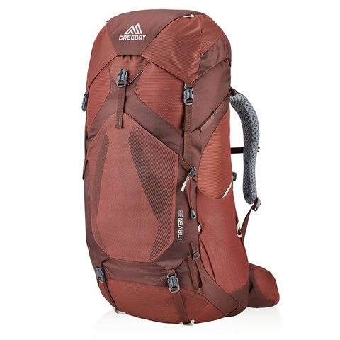 Gregory Maven 55 Backpack - Women's Rosewood Red Xs/sm