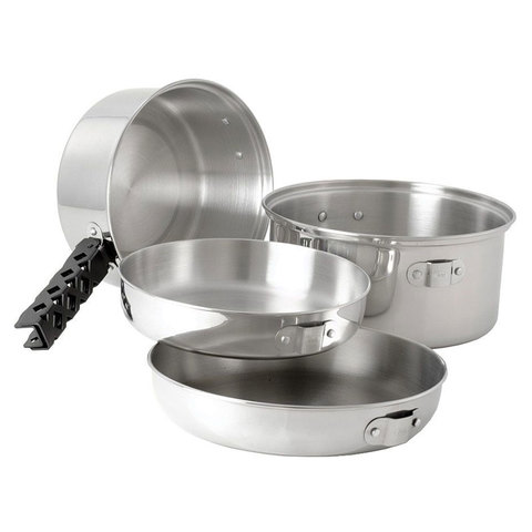 GSI Stainless Cookset O/c Lg