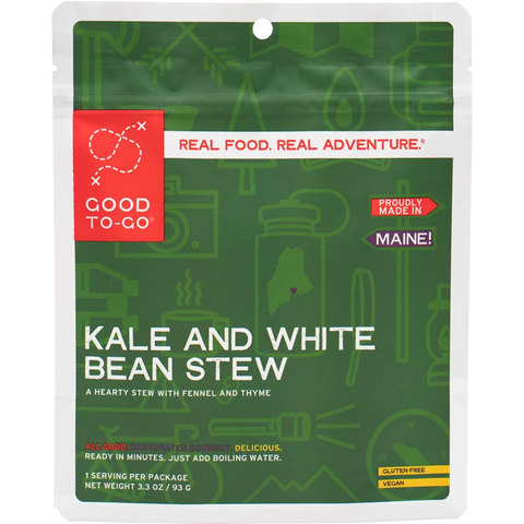 Good To-Go Kale And White Bean Stew 1 Serving