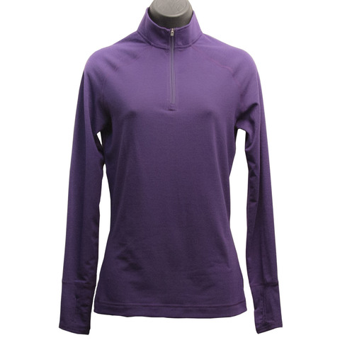 Hot Chillys MTF4000 Solid Zip-T