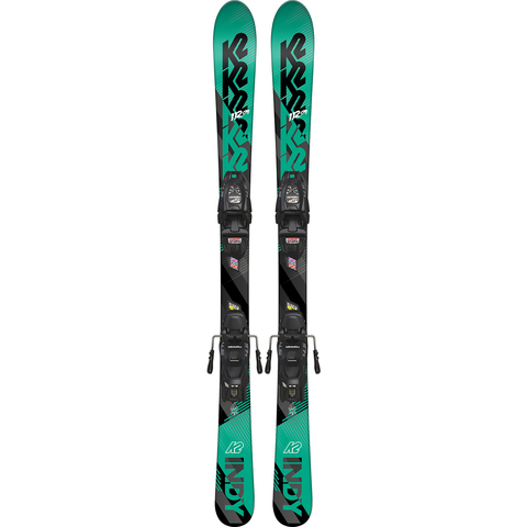 K2 Indy Skis W/ FDT 4.5 Bindings - Kid's N/a 124cm