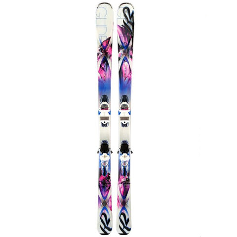 K2 SuperGlide Skis - Women's