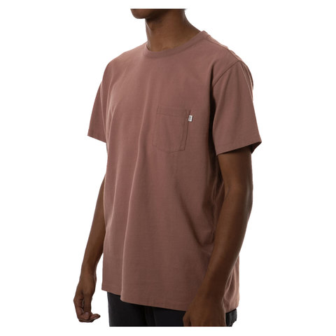 Katin Base Pocket Tee Dark Clay Xl