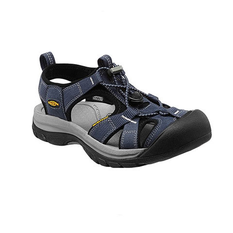 Keen Venice H2 Sandals - Women's Midnight Navy/hot Coral